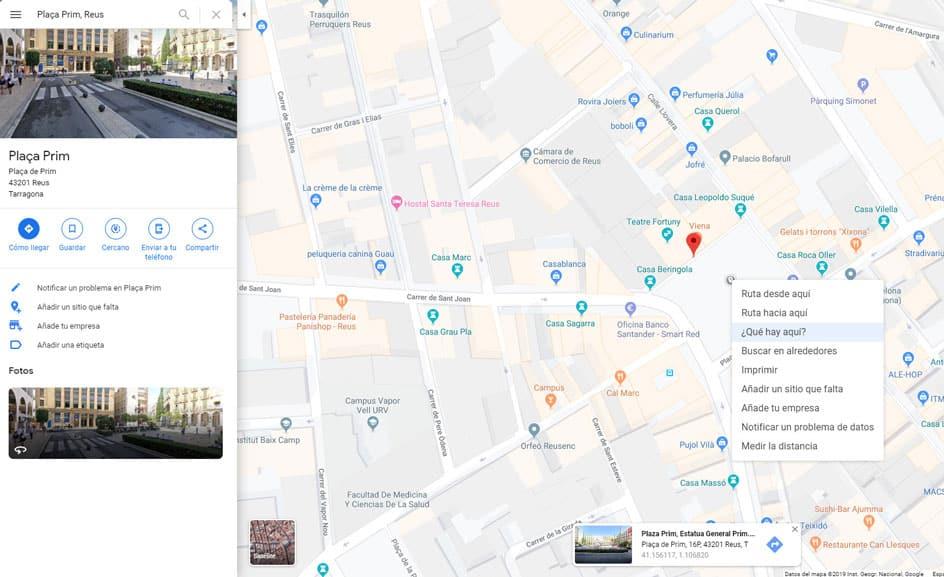 Extraer latitud y altitud de Google Maps