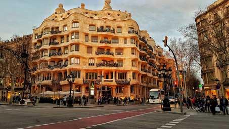 Audioguía de Gaudí por Barcelona