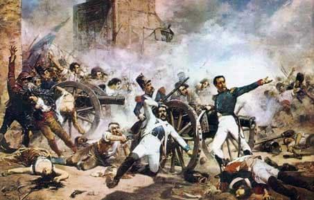 Ruta del levantamiento del 2 de mayo
