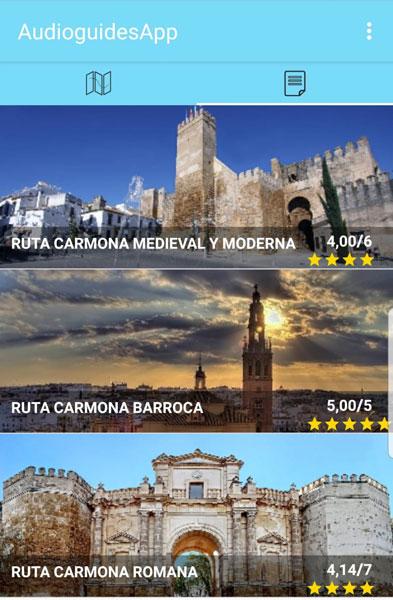 Audioguías de Carmona Sevilla
